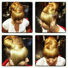 Super Buns Protective Styles And Hair On Pinterest Hairstyles For Women Draintrainus