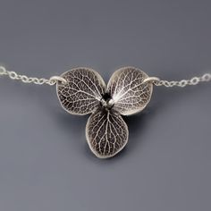 Hydrangea Blossom Necklace by Lisa Hopkins Design#Repin By:Pinterest++ for iPad#