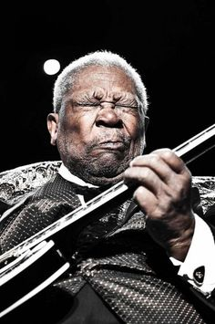 B.B. King, along with Buddy Guy, is one of the few remaining guitarist from another time and place. I need to see him live before it's too late!