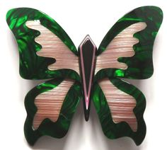 Lea Stein brooch - large butterfly - photographed by Gillian Horsup.  www.gillianhorsup.com