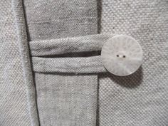 Slipcover Button Closesure by Slipcovermaker.com