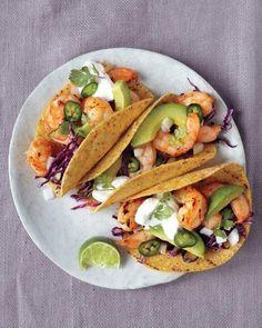 Broiled Shrimp Tacos