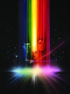 """Bob Peak's poster for """"Star Trek: The Motion Picture,"""" 1979."""
