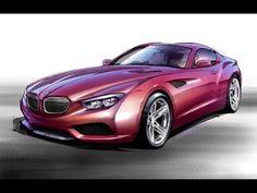 2012 BMW Zagato Coupe - Design Sketch 1 - 1280x960 - Wallpaper