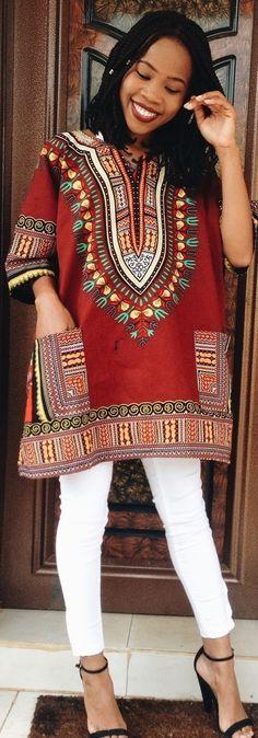 Dashiki / Fashion By My Style Diary