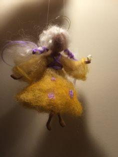 Nadel Filz Waldorf inspirierte Home Dekor Angel in von DreamsLab3
