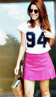 Look camisa com número / t shirts com número  www.fashionmarigoes.blogspot.com.br