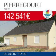 Habitat Concept vous propose ce pavillon avec garage à PIERRECOURT (76340) pour 142 541€ TTC*