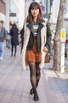 Japanese Streets, Japanese Street Fashion, Vintage Words, Shibuya Tokyo, Tokyo Streets, Tokyo Street Style, Long Vests, Skirt Belt, Issey Miyake