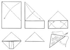 Fold a letter into its own triangle-shaped envelope to send! Origami Envelope, Envelope Art, Letter Folding, Paper Folding, Paper Art, Paper Crafts, Maya, Letter Writing, Hand Writing