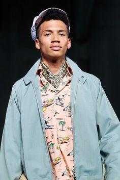 Prada Spring 2012 Menswear #print #novelty