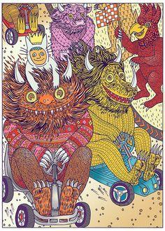 Where the Wild Things Are - Lisa Hanawalt.