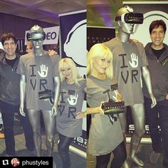 An awesome Virtual Reality pic! #Repost @phustyles  Last week at #VRLA with my @vrtuality co-founder showcasing our #virtualreality demo with @subpac.  What an #amazing #expo! It was so exciting to see over two thousand people interested in #VR including my fave #ladyboss @rosemcgowan.  We are in such exciting times & I'm so excited to be part of the next #generation of #entrepreneurs pioneering the next #evolution in Virtual Reality.  Thank you @vrlosangeles & #subpac as well as all the VR…