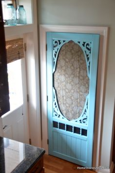 Pantry screen door and you need to open the pix up to see but i love