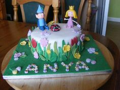 The Ben and Holly cake for Anya