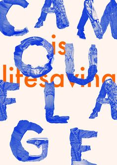 Typography / creative process study on Behance