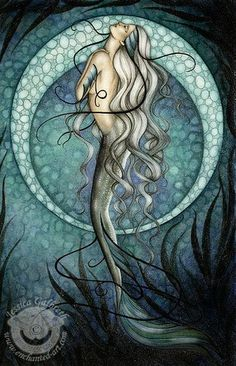 "Mermaids Ocean Sea:  ""Mermaid,"" by Jessica Galbreth."