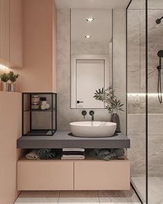 40 modern bathroom vanities that overflow with style - Badezimmer 2019 - Bathroom Decor Black Bathroom Taps, Small Bathroom, Bathroom Ideas, Bathroom Vanities, Black Bathtub, Black Bathrooms, Bathroom Storage, Pastel Bathroom, Serene Bathroom