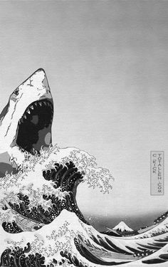 A big fear of mine as a child playing in the Atlantic Ocean. Thank you, Mr. Spielberg.