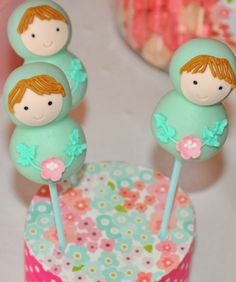 Matryoshka Doll Themed Birthday Party via Kara's Party Ideas KarasPartyIdeas.com #matryoshka #matryoshkadoll #girlpartyideas #dollparty #matryoshkacake (4)
