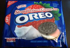 Review: Limited Edition Strawberries n' Creme Oreos & One Thought ...