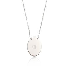 SAMANTHA WILLS - SECRET NOTE NECKLACE - SILVER
