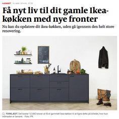 Betaalbare designkeuken: luxueuze werkbladen, deuren... die op élke IKEA Methof die Factum keuken passen! Levert ook in België!  Andshufl.com