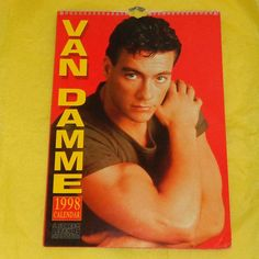 Rare Jean Claude Van Damme 1998 Screen Legends Production
