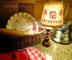 Ash Tree Cottage ~ early morning in the kitchen