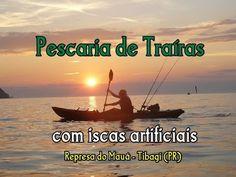 Pescaria de traíras com iscas artificiais na Represa do Mauá - Tibagi (PR)