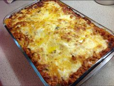 Lasagne at This Muslim Girl Bakes
