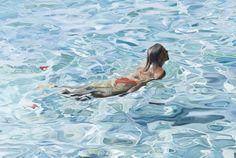 Josep Moncada   Flotar, oleo sobre tela, 2007