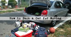 You're about to pack your car for a move… only you're not sure what you should take with you, how to protect your valuable items, and how to maximize the space when packing a car. How to pack a car for moving? Get ready to learn all the answers with these 13 tips for packing a car when moving to a new home.