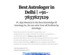 Best Astrologer in Delhi Best astrologer in Delhi innocuous method to protect community problems. In the world of famous astrologers Vashikaran Ajay Shastri ji Vashikaran only positive energy Vashikaran method. You can create several Vashikaran used for boss, family, friend, boyfriend, etc.