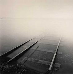 Michael Kenna - Rail Tracks In Fog