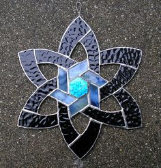 stain glass Celtic Star