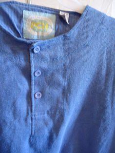 Ocean Blue True 80's Vintage Long Sleeved Fashion by POPWILDLIFE,