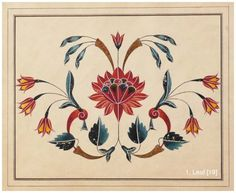 Islamic Motifs, Islamic Art, Indian Flowers, Persian Pattern, Bead Embroidery Patterns, Creative Embroidery, Traditional Paintings, Panel Art, Flower Wallpaper