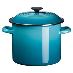 Le Creuset 8-Quart Enamel On Steel Stock Pot with Lid