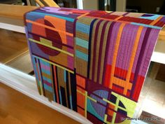 The Quilting Edge: Let's Quickly Join.......Let's NOT. Textiles, Textile Patterns, Quilt Patterns, Jellyroll Quilts, Scrappy Quilts, Quilt As You Go, Collage Art Mixed Media, Contemporary Quilts, Quilted Wall Hangings