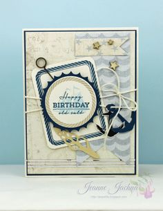 Happy Birthday Old Salt! by akeptlife - Cards and Paper Crafts at Splitcoaststampers