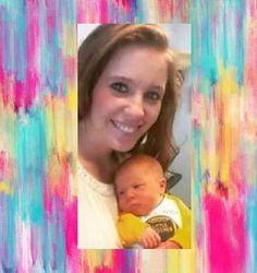 Jill with her new baby boy Isreal First Tv, First Baby, Duggar Girls, Duggar Family Blog, The Dillards, Duggar Wedding, Derick Dillard, Jill Duggar, 4 Kids