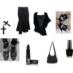 Some Day by jessica-parks-1 on Polyvore featuring Junya Watanabe, Tarina Tarantino and OPI