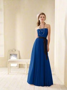 Alfred Angelo bridesmaid dress style 8602 in Ink. Not Lauren's dress but the right color