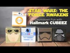 Hallmark Cubeez Countdown to Star Wars: The Force Awakens (Sponsored by @hallmark)