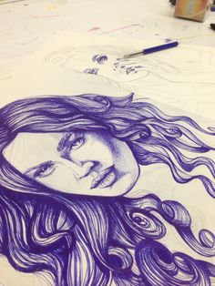 My #BIC drawings