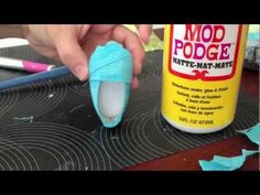 NO-Sew How To Make Shoes Like Toms  For your Ameircan Girl Doll - YouTube tutorial video by Cinnamon of Liberty Jane Clothing how-to-doll-crafts