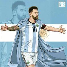 Messi O Salvador Argentino Con Imagenes Messi Messi