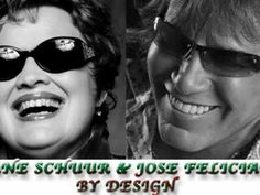 By Design - Diane Schurr & Josè Feliciano.One of my all-time favorite songs! I got to see them sing it - so moving! 6 Music, Music Icon, Academy Of Music, Song Playlist, Me Me Me Song, Jukebox, Music Artists, All About Time, Sunglasses Women