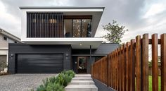 Modern architecture: what is it these days? (The Interiors Addict) - Modern architecture: what is it these days? House Cladding, Facade House, Wall Cladding, Modern House Facades, Modern House Design, Contemporary Design, Contemporary Benches, Contemporary Cottage, Minimalist House Design